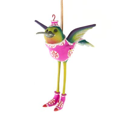 Patience Brewster Hilde Hummingbird Ornament
