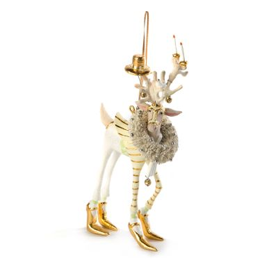 Patience Brewster Moonbeam Prancer Reindeer Ornament