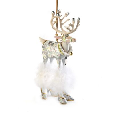 Patience Brewster Moonbeam Vixen Reindeer Ornament