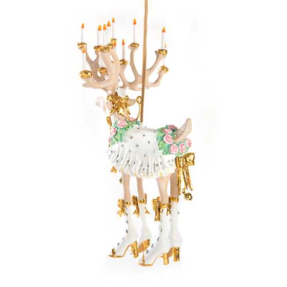 Patience Brewster Moonbeam Donna Reindeer Ornament image three