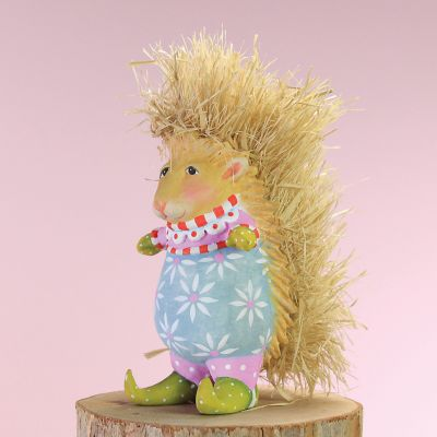 Patience Brewster Pansy Porcupine Mini Ornament