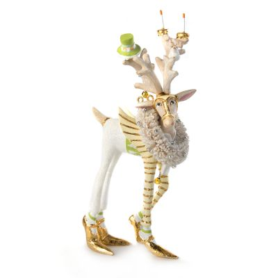 Patience Brewster Moonbeam Prancer Reindeer Mini Ornament