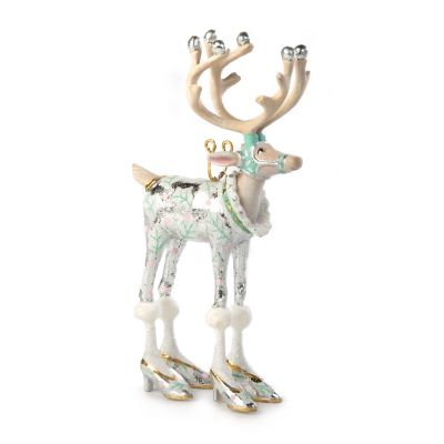 Patience Brewster Moonbeam Vixen Reindeer Mini Ornament