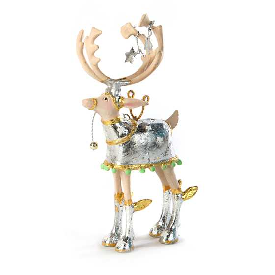 Patience Brewster Moonbeam Comet Reindeer Mini Ornament