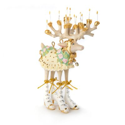 Patience Brewster Moonbeam Donna Reindeer Mini Ornament