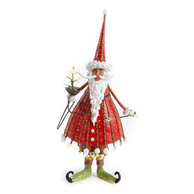 Patience Brewster Dash Away World Dashing Santa Figure