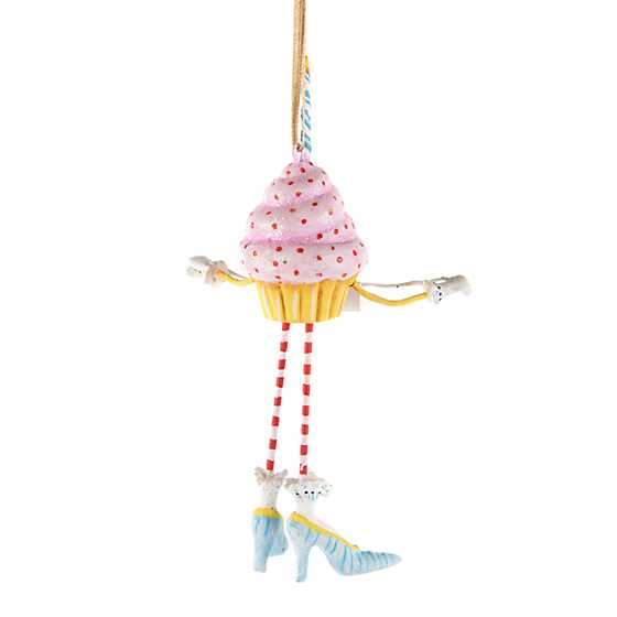 Patience Brewster Birthday Cupcake Mini Ornament image three