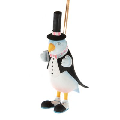 Patience Brewster Love Bird Groom Ornament