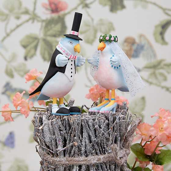 Patience Brewster Love Bird Bride Ornament image two