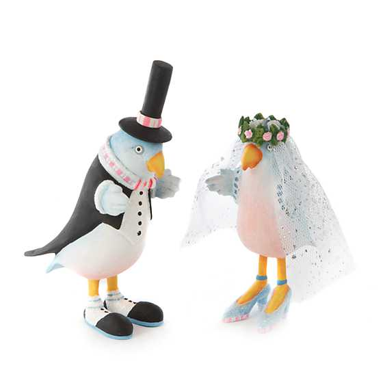 Patience Brewster Love Bird Bride Ornament image four