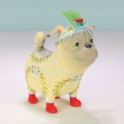 Patience Brewster Prudence Pug Ornament
