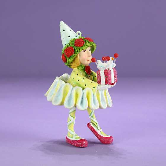 Patience Brewster Dash Away Dancer's Elf Mini Ornament image two