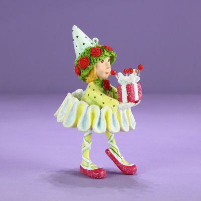 Patience Brewster Dash Away Dancer's Elf Mini Ornament
