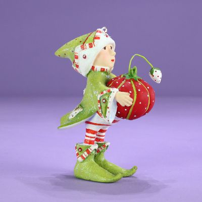 Patience Brewster Dash Away Prancer's Elf Mini Ornament