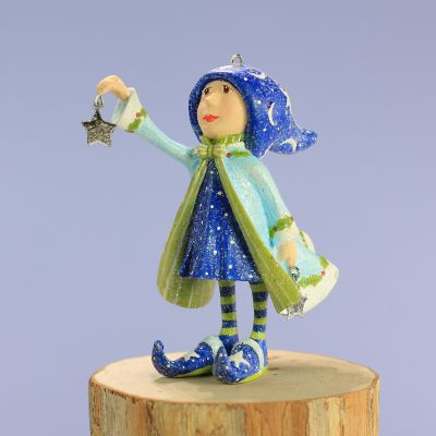 Patience Brewster Dash Away Comet's Elf Mini Ornament