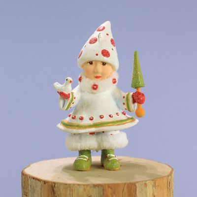 Patience Brewster Dash Away Blitzen's Elf Mini Ornament