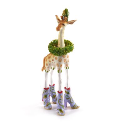 Patience Brewster Jambo Janet Giraffe Mini Ornament