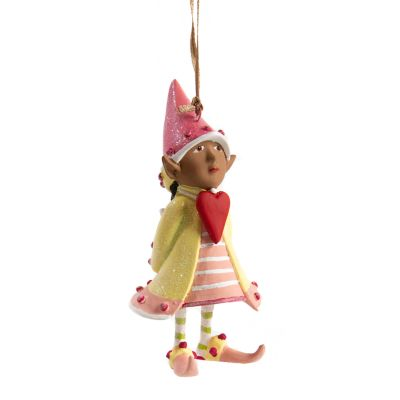Patience Brewster Dash Away World Cupid's Elf Ornament