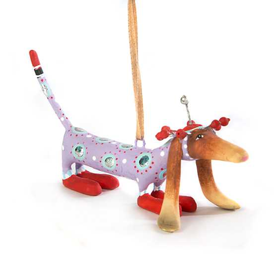 Patience Brewster Chula Dachshund Mini Ornament image one