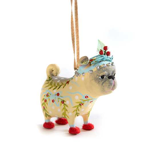 Patience Brewster Prudence Pug Mini Ornament