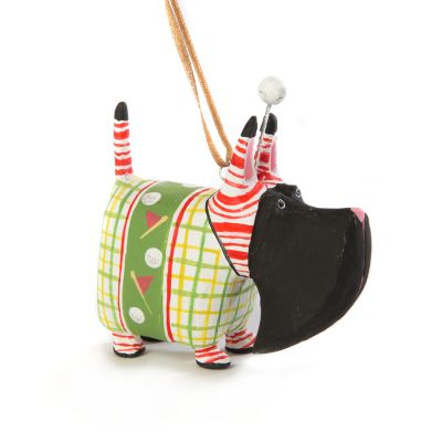 Image for Patience Brewster Angus Golf Scottie Mini Ornament