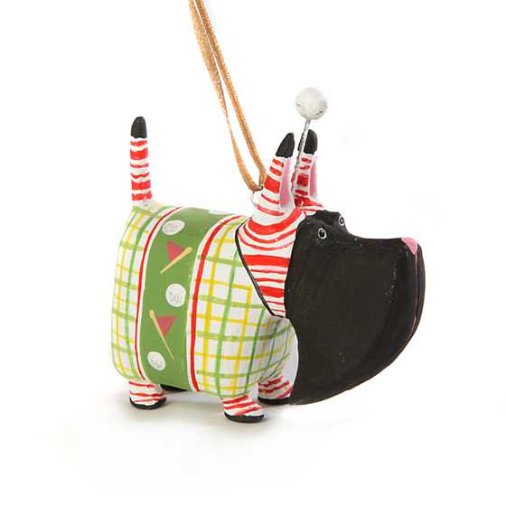 Patience Brewster Angus Golf Scottie Mini Ornament image one
