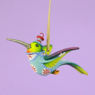 Patience Brewster Wizz Hummingbird Mini Ornament