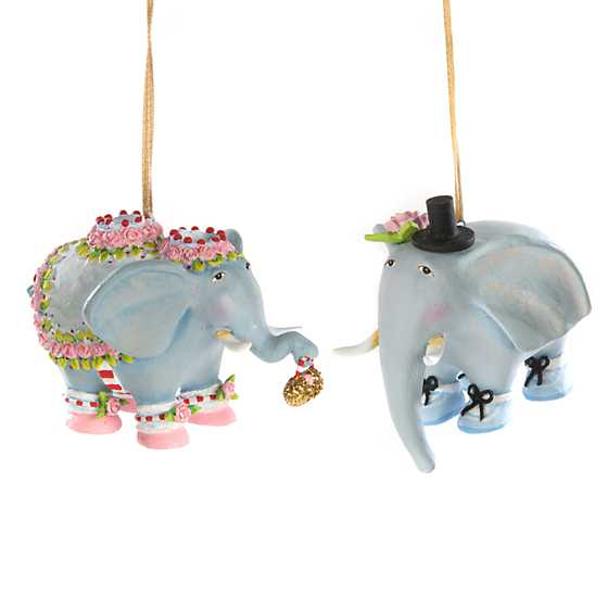 Patience Brewster Noah's Ark Elephant Mini Ornaments
