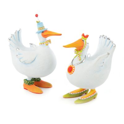 Image for Patience Brewster Noah's Ark Duck Mini Ornaments