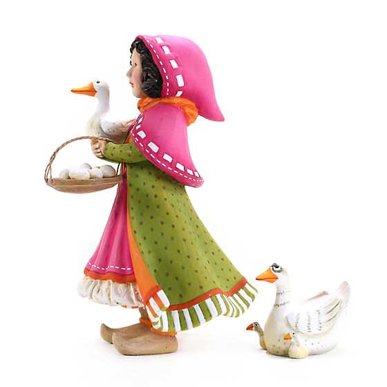 Patience Brewster Nativity Girl with Duck Figures image two
