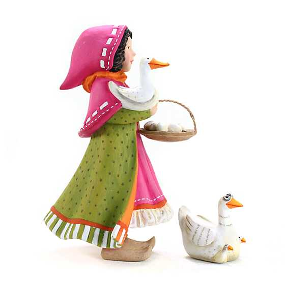 Patience Brewster Nativity Girl with Duck Figures image three