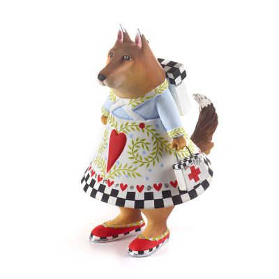 Patience Brewster Bekah German Shepherd Rescue Dog Ornament