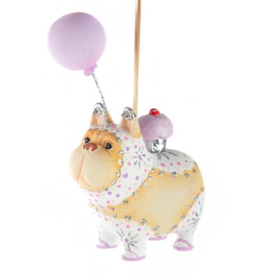 Patience Brewster Cupcake the French Bulldog Ornament