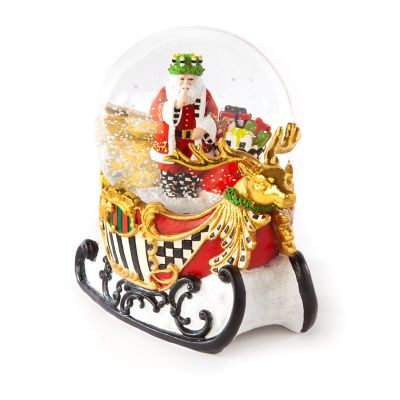 Sleigh Ride Snow Globe
