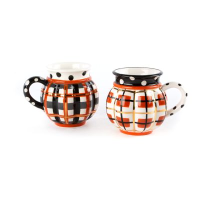 Tartan Spice Mugs - Set of 2