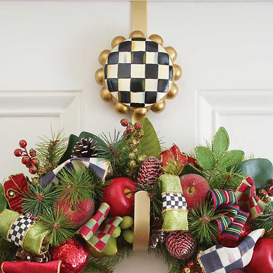Courtly Check Wreath Hanger image three