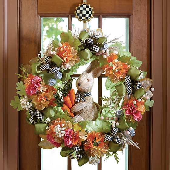 Courtly Check Wreath Hanger image four