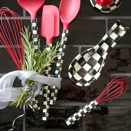 Courtly Check Small Whisk - Red image two