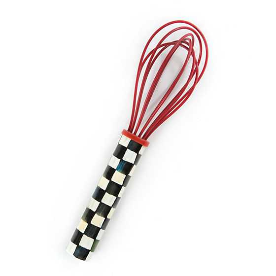 Courtly Check Small Whisk - Red