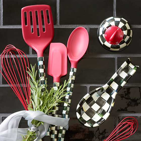 Courtly Check Spatula - Red image two