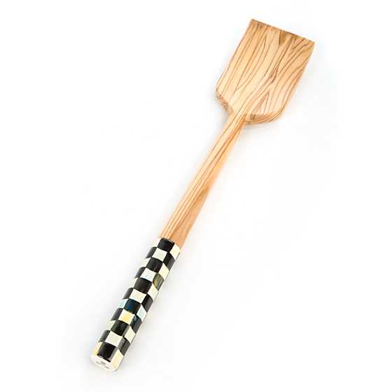 Courtly Check Olivewood Pan Paddle
