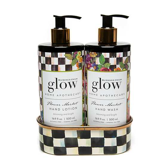 Flower Market Soap & Lotion Caddy Set image three