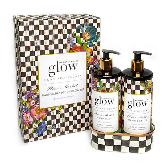 Flower Market Soap & Lotion Caddy Set image one