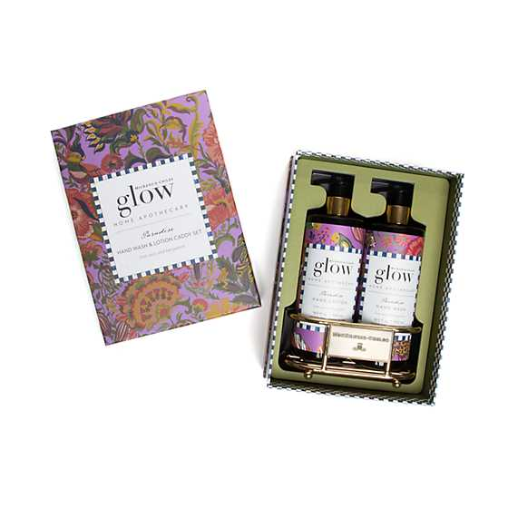 Paradise Soap & Lotion Caddy Set image three