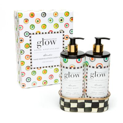 Studio Soap & Lotion Caddy Set