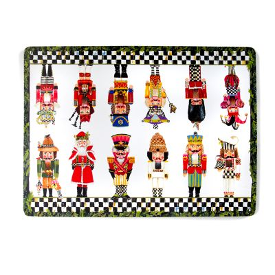 Nutcracker Brigade Cork Back Placemats - Set of 4