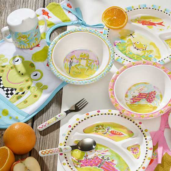 Toddler's Dinnerware Set - Frog image eight