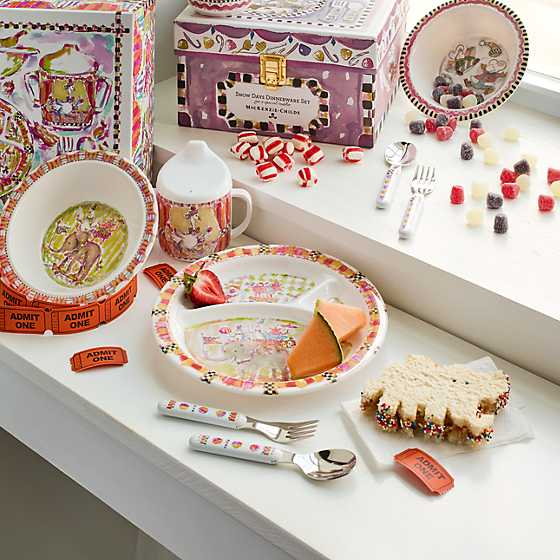 ... Toddler\u0027s Dinnerware Set - Animal Parade ... & MacKenzie-Childs | Toddler\u0027s Dinnerware Set - Animal Parade