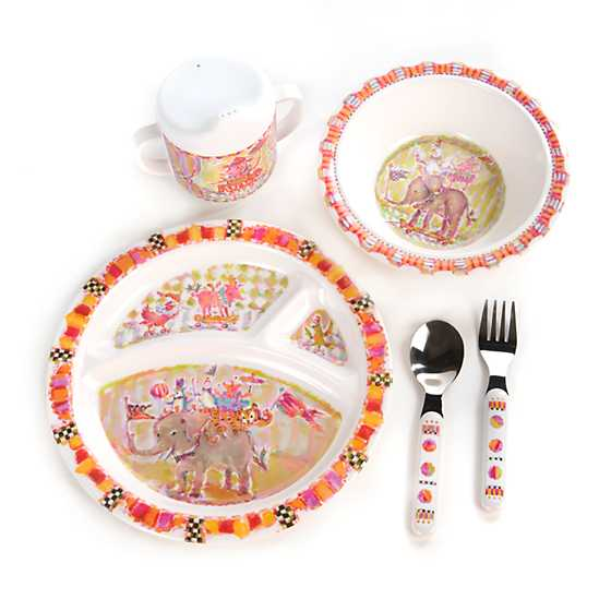 Toddler\u0027s Dinnerware Set - Animal Parade  sc 1 st  MacKenzie-Childs & MacKenzie-Childs | Toddler\u0027s Dinnerware Set - Animal Parade