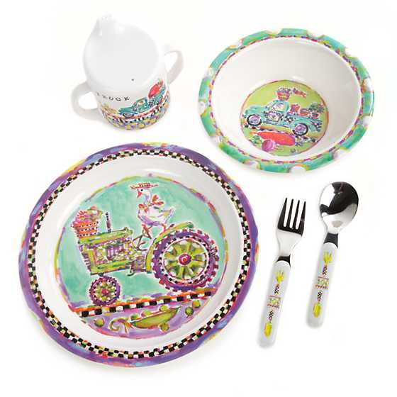 Toddler's Dinnerware Set - Farm to Table